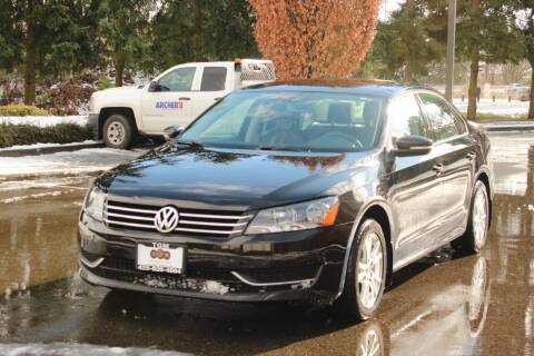 2014 Volkswagen Passat for sale at Top Gear Motors in Lynnwood WA