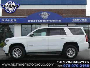 2018 Chevrolet Tahoe for sale at Highline Group Motorsports in Lowell MA