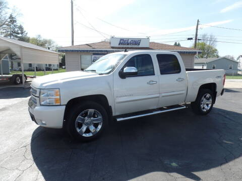 2013 Chevrolet Silverado 1500 for sale at DeLong Auto Group in Tipton IN