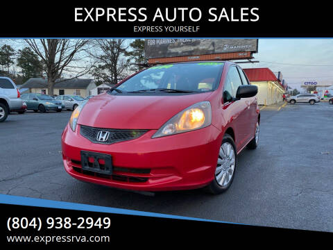 2011 Honda Fit for sale at EXPRESS AUTO SALES in Midlothian VA