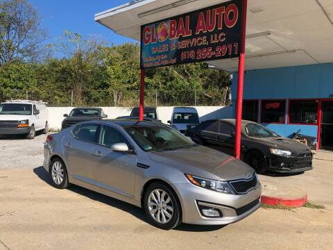 2015 Kia Optima for sale at Global Auto Sales and Service in Nashville TN