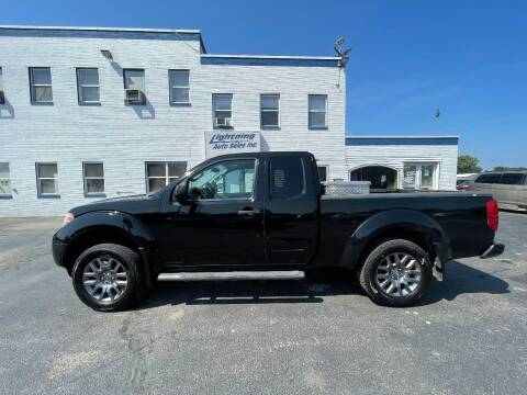 2012 Nissan Frontier for sale at Lightning Auto Sales in Springfield IL