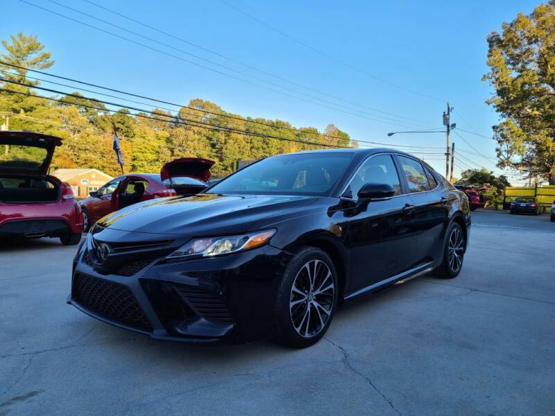 2018 Toyota Camry for sale at DADA AUTO INC in Monroe NC