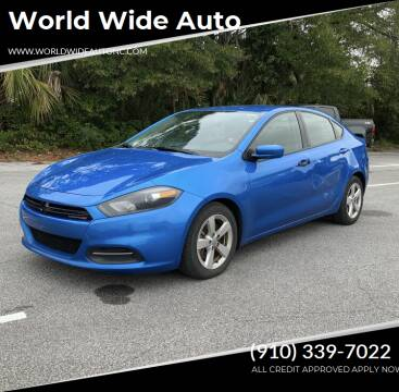 2016 Dodge Dart for sale at World Wide Auto in Fayetteville NC