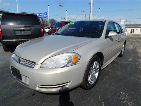 2012 Chevrolet Impala for sale at D & T Auto Sales, Inc. in Henderson KY