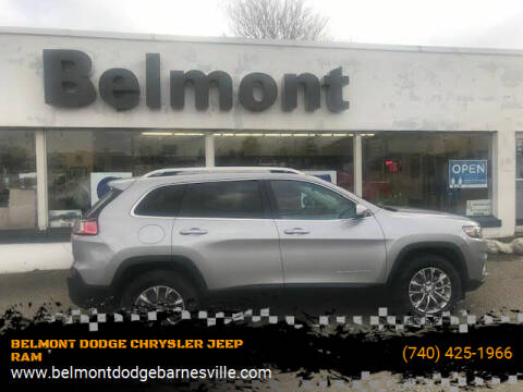 2021 Jeep Cherokee for sale at BELMONT DODGE CHRYSLER JEEP RAM in Barnesville OH