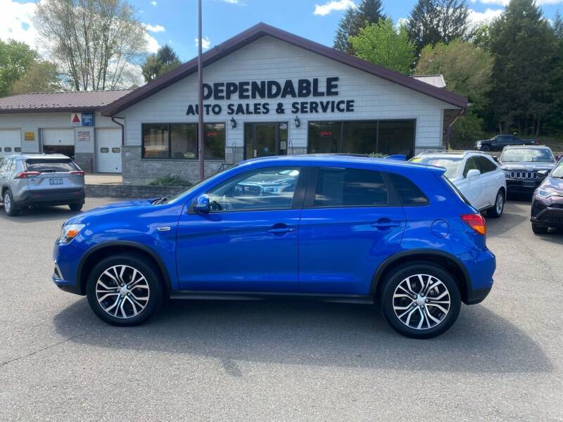 2018 Mitsubishi Outlander Sport for sale at Dependable Auto Sales and Service in Binghamton NY