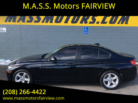 2015 BMW 3 Series for sale at M.A.S.S. Motors - Fairview in Boise ID