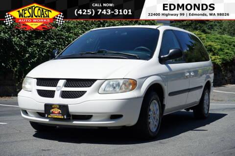 2002 Dodge Grand Caravan for sale at West Coast Auto Works in Edmonds WA