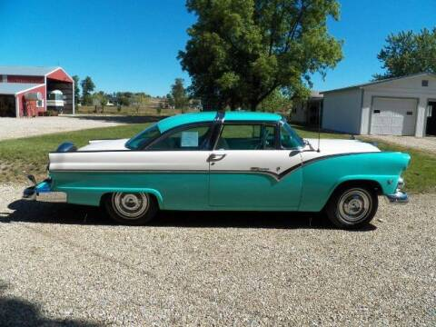 1955 Ford Crown Victoria for sale at Classic Car Deals in Cadillac MI