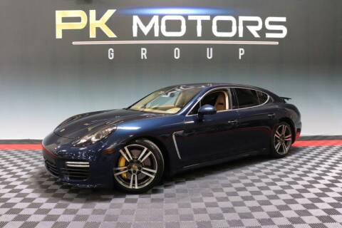 2014 Porsche Panamera for sale at PK MOTORS GROUP in Las Vegas NV