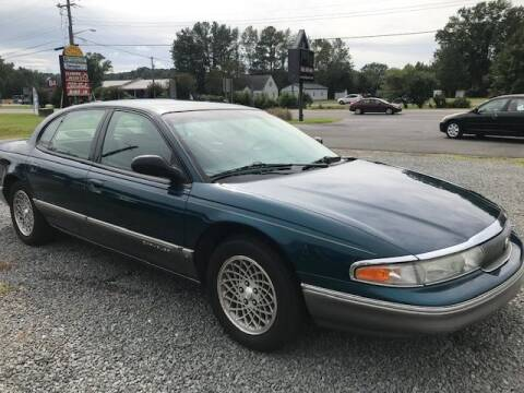 1996 Chrysler New Yorker for sale at J Wilgus Cars in Selbyville DE
