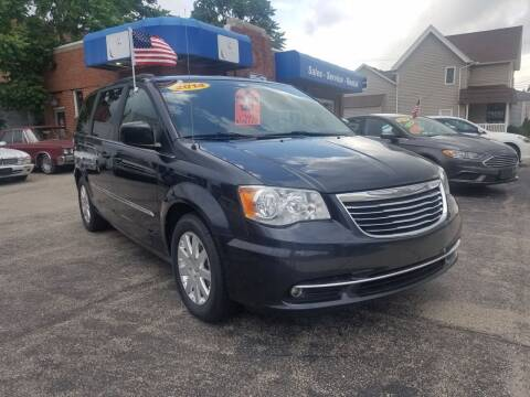 2014 Chrysler Town and Country for sale at BELLEFONTAINE MOTOR SALES in Bellefontaine OH
