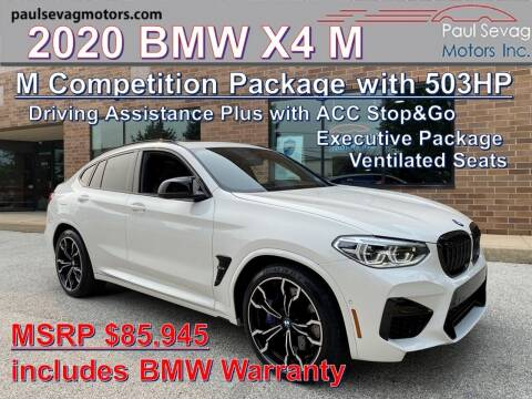 2020 BMW X4 M for sale at Paul Sevag Motors Inc in West Chester PA