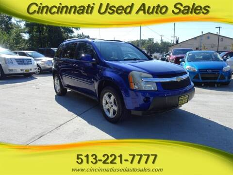 2006 Chevrolet Equinox for sale at Cincinnati Used Auto Sales in Cincinnati OH