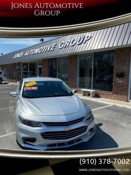 2018 Chevrolet Malibu for sale at Jones Automotive Group in Jacksonville NC