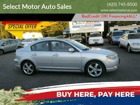 2004 Mazda MAZDA3 for sale at Select Motor Auto Sales in Lynnwood WA