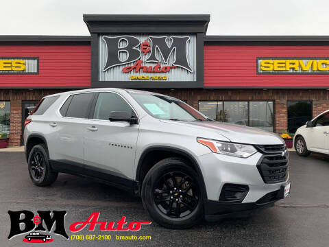 2019 Chevrolet Traverse for sale at B & M Auto Sales Inc. in Oak Forest IL