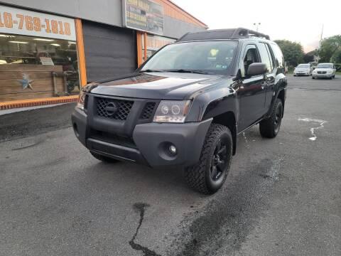 2010 Nissan Xterra for sale at Lehigh Valley Truck n Auto LLC. in Schnecksville PA