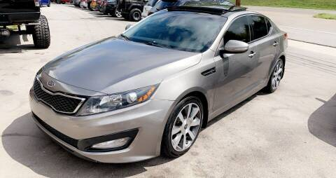 2012 Kia Optima for sale at North Knox Auto LLC in Knoxville TN