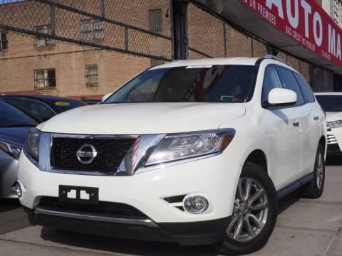 2016 Nissan Pathfinder for sale at HILLSIDE AUTO MALL INC in Jamaica NY