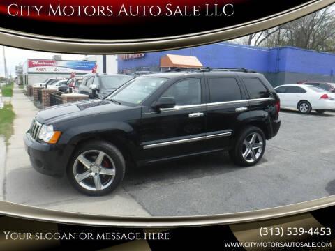 2008 Jeep Grand Cherokee for sale at City Motors Auto Sale LLC in Redford MI