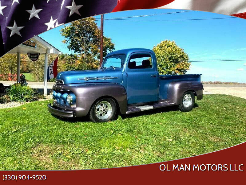 1950 Ford F-100 for sale at Ol Man Motors LLC in Louisville OH