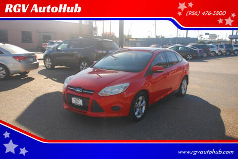 2013 Ford Focus for sale at RGV AutoHub in Harlingen TX