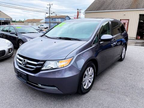 2014 Honda Odyssey for sale at Dijie Auto Sale and Service Co. in Johnston RI