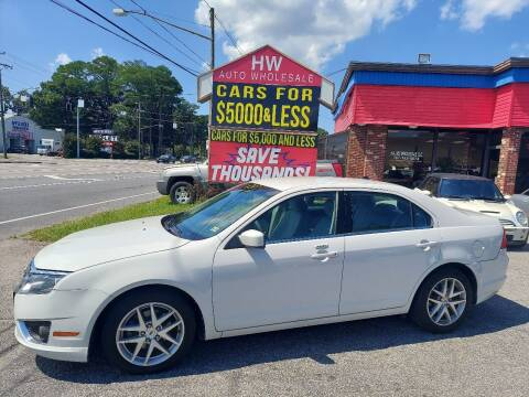 2011 Ford Fusion for sale at HW Auto Wholesale in Norfolk VA