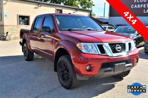 2017 Nissan Frontier for sale at LAKESIDE MOTORS, INC. in Sachse TX