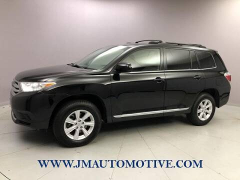 2013 Toyota Highlander for sale at J & M Automotive in Naugatuck CT
