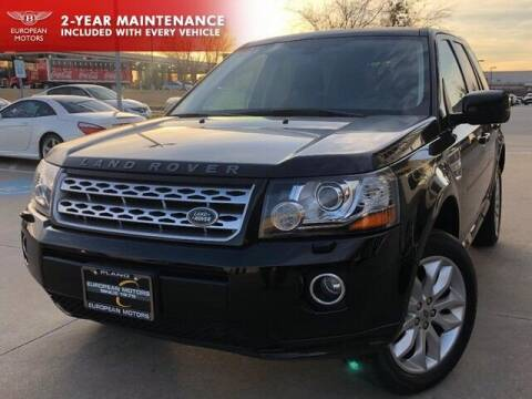 2013 Land Rover LR2 for sale at European Motors Inc in Plano TX