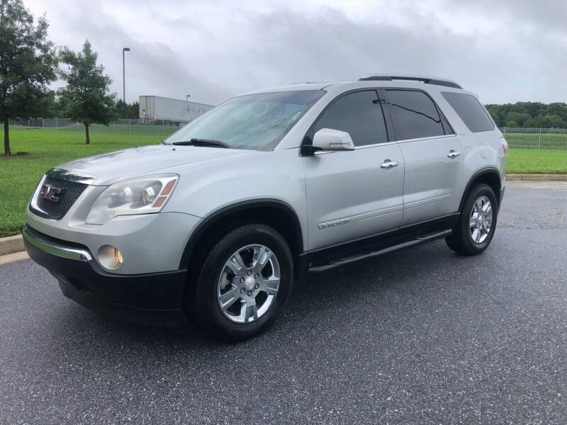 2007 GMC Acadia for sale at GTO United Auto Sales LLC in Lawrenceville GA