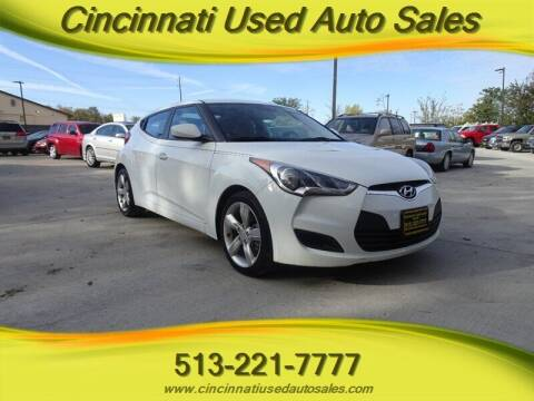 2013 Hyundai Veloster for sale at Cincinnati Used Auto Sales in Cincinnati OH