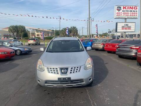 2008 Nissan Rogue for sale at King Auto Deals in Longwood FL