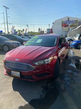 2018 Ford Fusion for sale at LA PLAYITA AUTO SALES INC - 3271 E. Firestone Blvd Lot in South Gate CA
