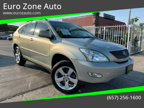 2005 Lexus RX 330 for sale at Euro Zone Auto in Stanton CA