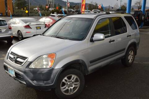2002 Honda CR-V for sale at Earnest Auto Sales in Roseburg OR