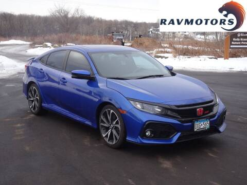 2017 Honda Civic for sale at RAVMOTORS in Burnsville MN