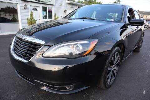 2012 Chrysler 200 for sale at Randal Auto Sales in Eastampton NJ
