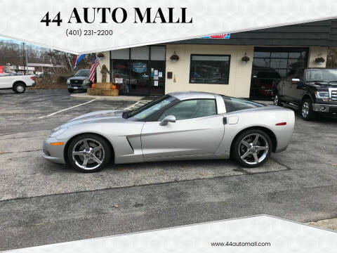 2008 Chevrolet Corvette for sale at 44 Auto Mall in Smithfield RI