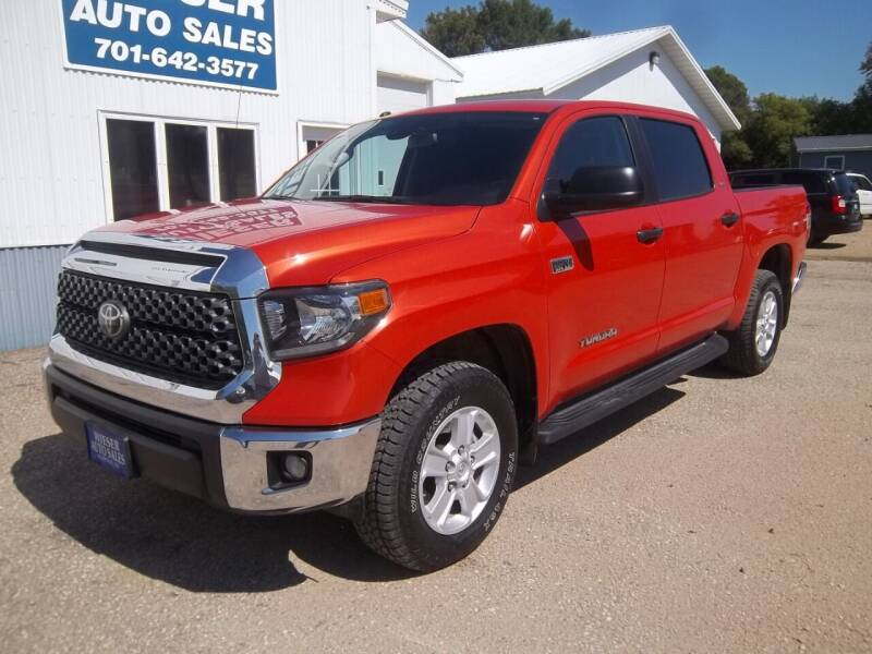 2018 Toyota Tundra for sale at Wieser Auto INC in Wahpeton ND