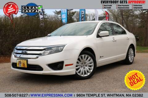 2010 Ford Fusion Hybrid for sale at Auto Sales Express in Whitman MA