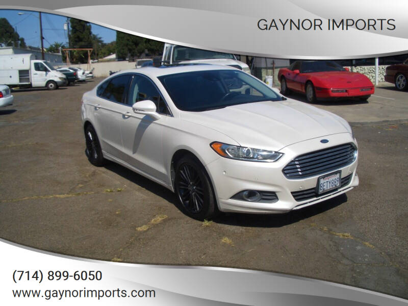 2013 Ford Fusion for sale in Stanton, CA