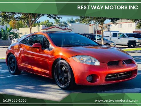 2007 Mitsubishi Eclipse for sale at BEST WAY MOTORS INC in San Diego CA