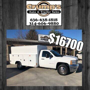 2008 Chevrolet Silverado 3500HD CC for sale at CRUMP'S AUTO & TRAILER SALES in Crystal City MO