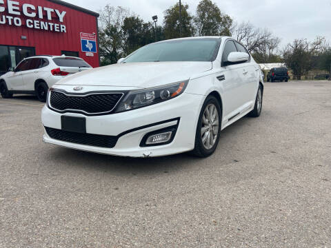 2014 Kia Optima for sale at Space City Auto Center in Houston TX