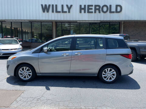 2012 Mazda MAZDA5 for sale at Willy Herold Automotive in Columbus GA