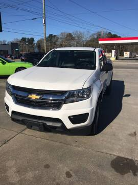 2017 Chevrolet Colorado for sale at Safeway Motors Sales in Laurinburg NC
